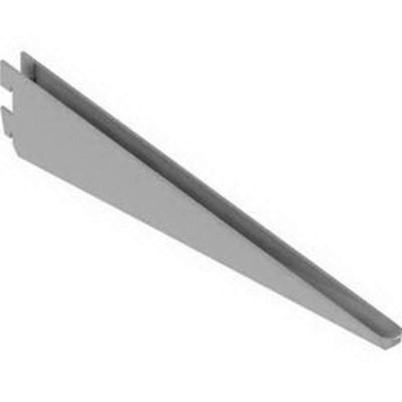 "S-bracket, straight, 11.81"", for wall shelving system"