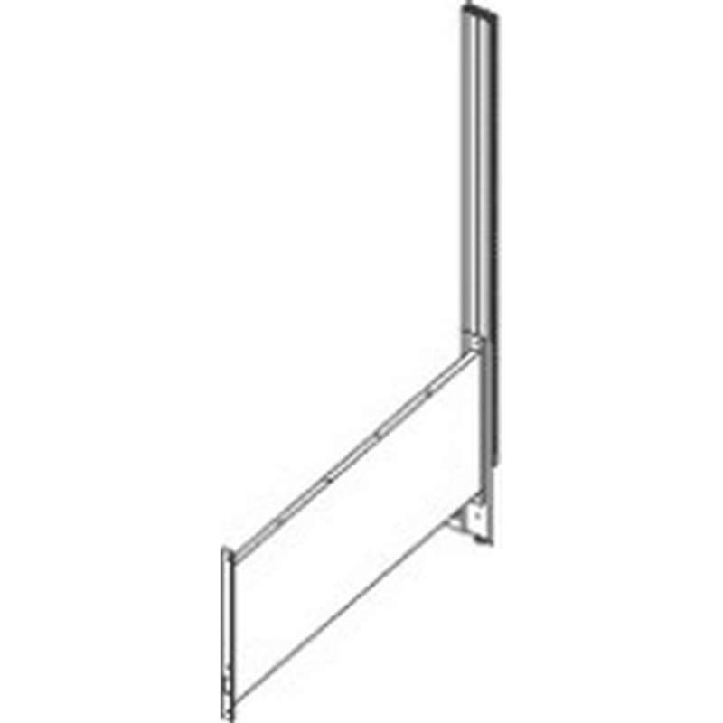 "8000 Series Adder Assembly Upright, 72"" for the 60"" Worksurface Top"