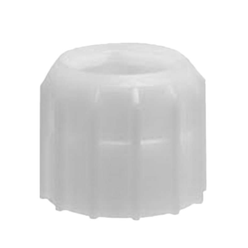 Sulzer® Micron Retaining Nut, Polypropylene, Natural, For 10 mm Static Mixer