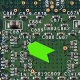 """Fluorescent Green Paper Inspection Arrow, 1/8 x 3/16"""", 1000/Roll"""