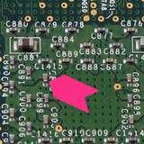 "Fluorescent Pink Paper Inspection Arrow, 1/8 x 3/16"", 1000/Roll"
