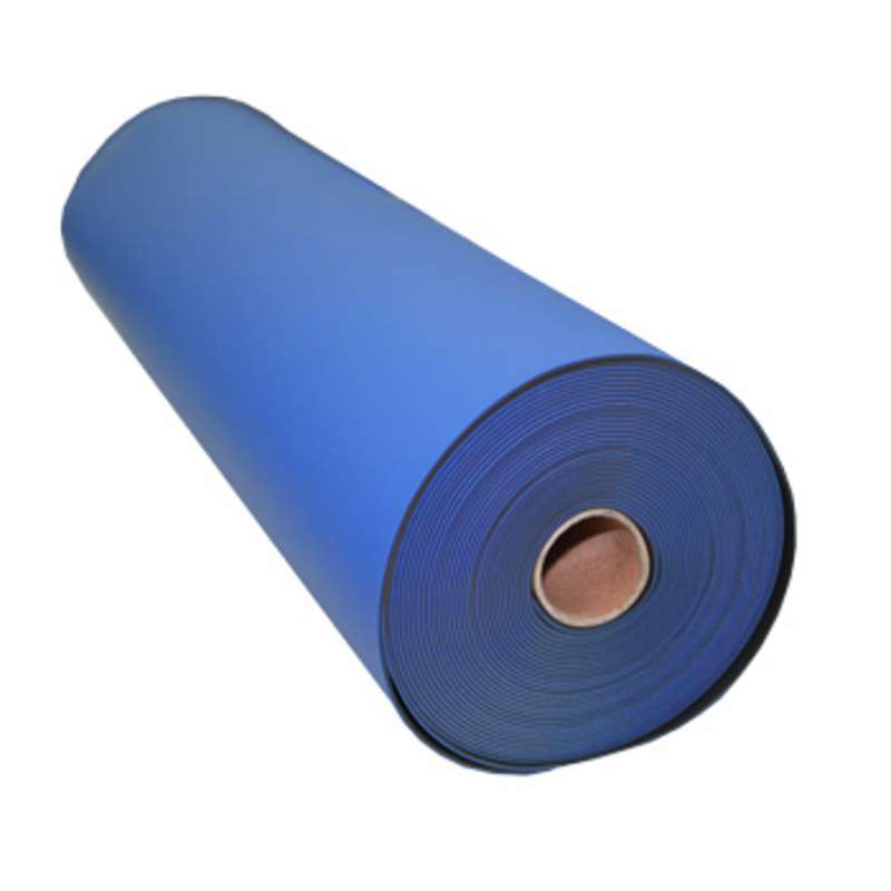 FT Series 2-Layer Diss/Cond Textured Heavy Duty Rubber Matting Roll without a Ground Cord or Snaps,