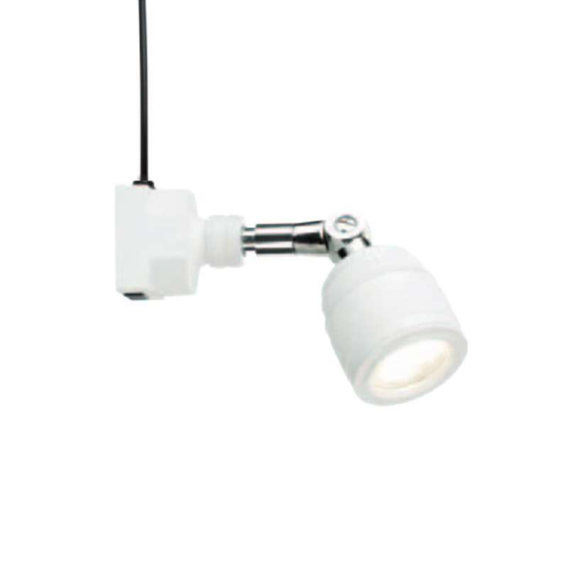 SL9 Series High Voltage LED Spot Light with Low Square Base and 25° Beam Angle, White