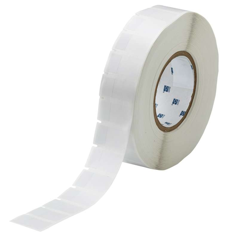 "3"" Core Series Self-Laminating Thermal Transfer Label, B-427, Clear/White, 1.750 x 0.75 in, 3500 Labels per Roll"