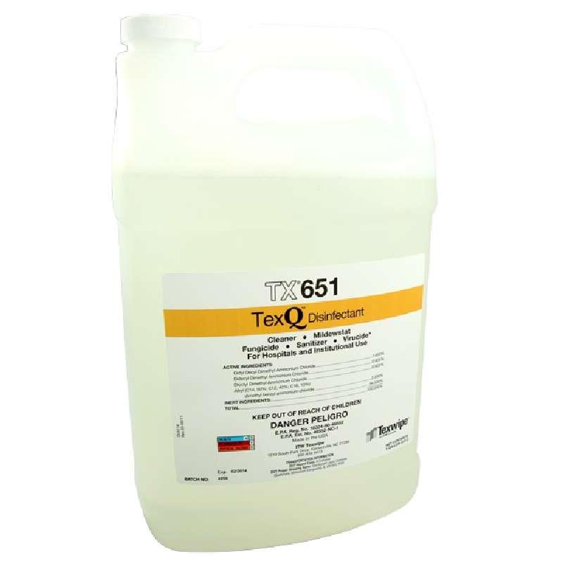 TexQ™ Quaternary Gamma Irradiated Ammonium Disinfectant, 1 Gallon Bottle