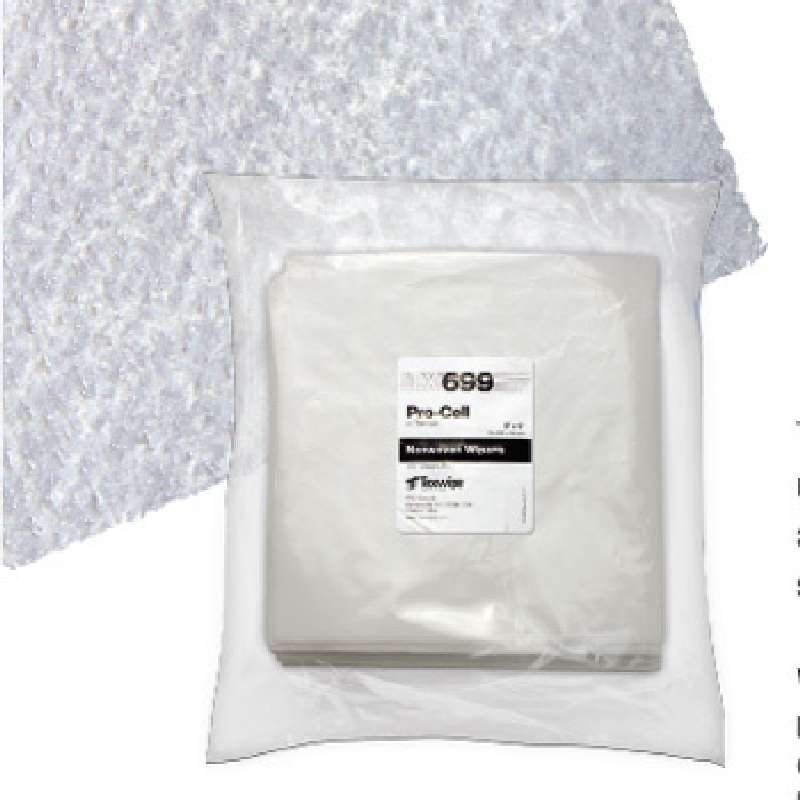 "ProCell™ Cellulose/PolypropyleneTriple-Layered Nonwoven Wipes, 9 x 9"", 150 per Bag"