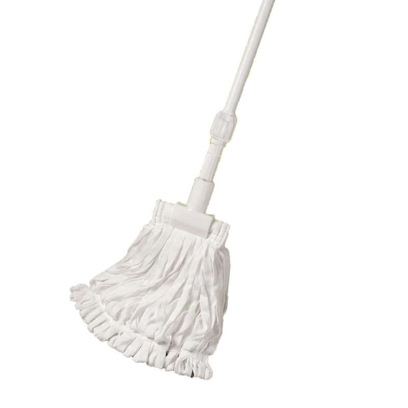 BetaMop™ ll Polyester Mop Handle with 15oz Tubular Mop Head, Cleanroom Ready