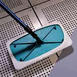 "TexMop™ AlphaMop™ Cleanroom Mop with a 15 x 8"" Head, Fiberglass Handle and Six Head Covers"