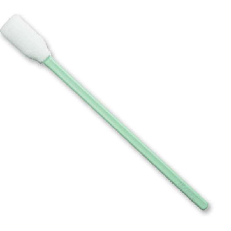 """CleanFoam® Polyurethane Swab with .512"""" Tip and Polypropylene Handle, 5.02"""" Long, 100 per Package"""