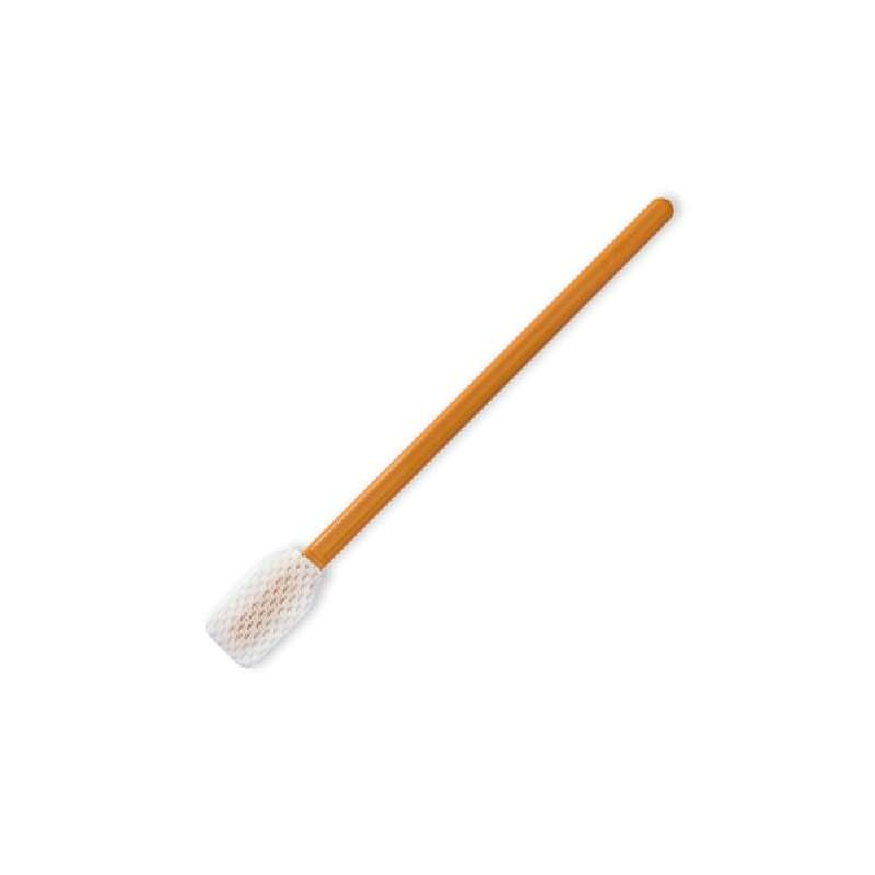 """General Purpose Polyester Honeycomb Series Swab with 0.992"""" Tip and Polypropylene Handle, 5.020"""" Long, 100 per Package"""