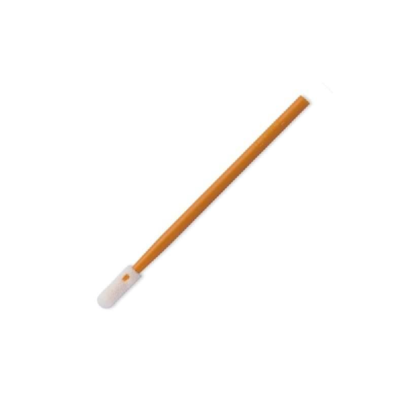 """General Purpose Polyurethane Foam Swab with 0.472"""" Tip and Polypropylene Handle, 2.795"""" Long, 500 per Package"""