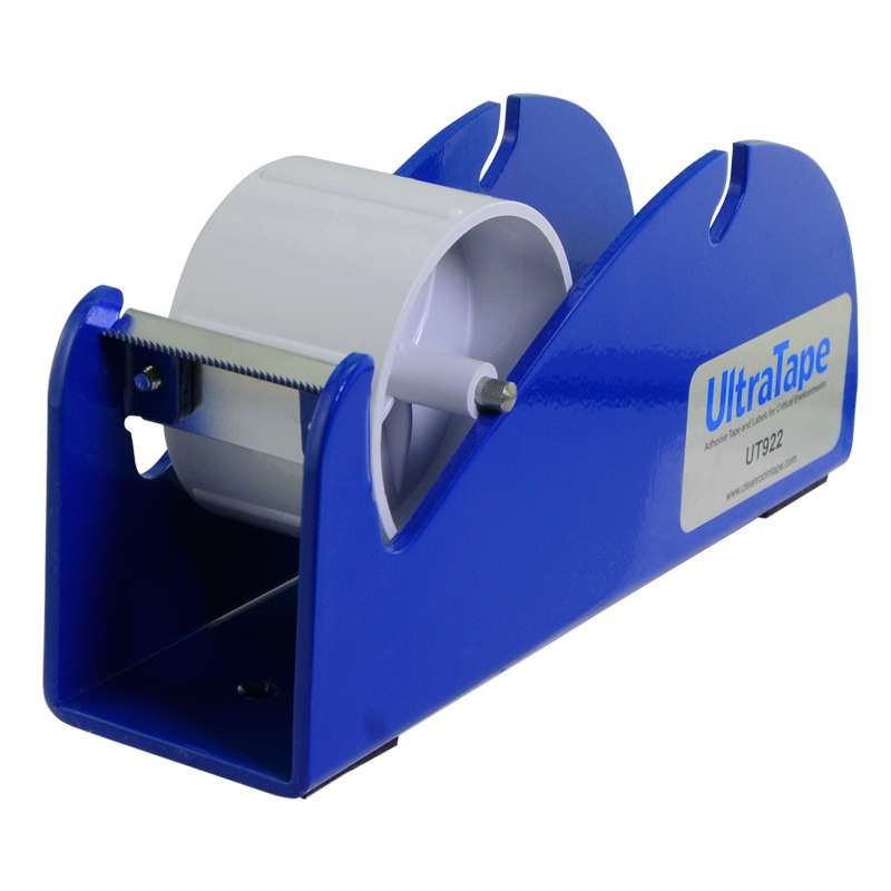 "Tape Dispenser with One Spool, 3"" Core 2"" Width, Blue"