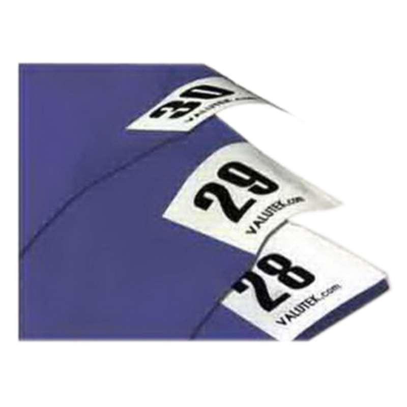 ValuTek® VT18364P30L-B Cleanroom Adhesive Mat, 1 9 mil/50