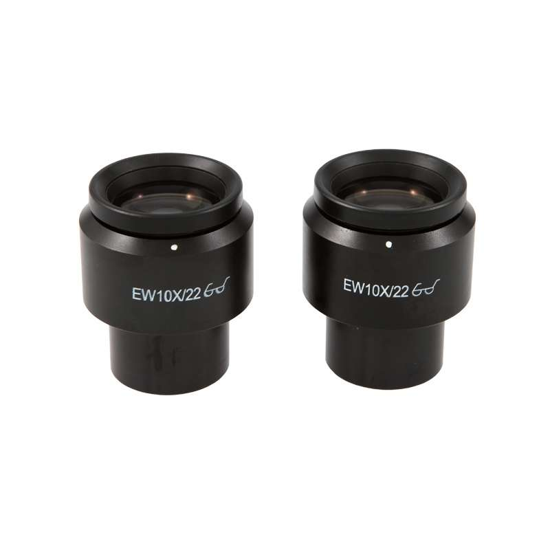 SX45 Series Wide Field Eyepieces, 10X Magnification, 22mm Diameter, One Pair
