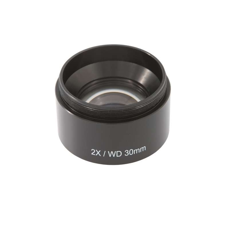 SX25 Series Objective Lens with 30mm Working Distance, 2.0X Magnification