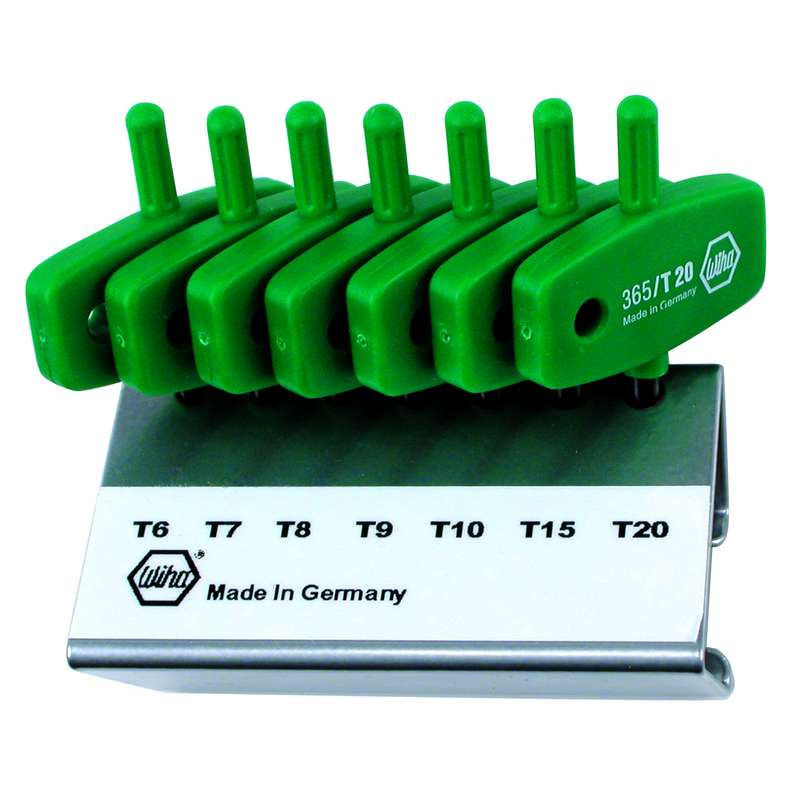 Torx Set Wing Style In Stand 7 Piece