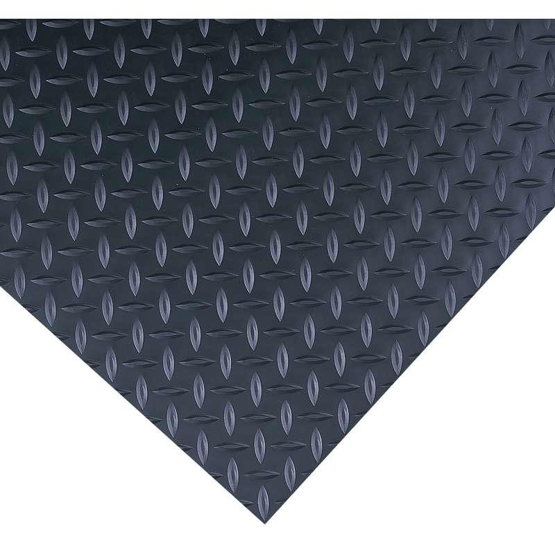 Insulated Diamond Plate 3 X 75 High Voltage Black