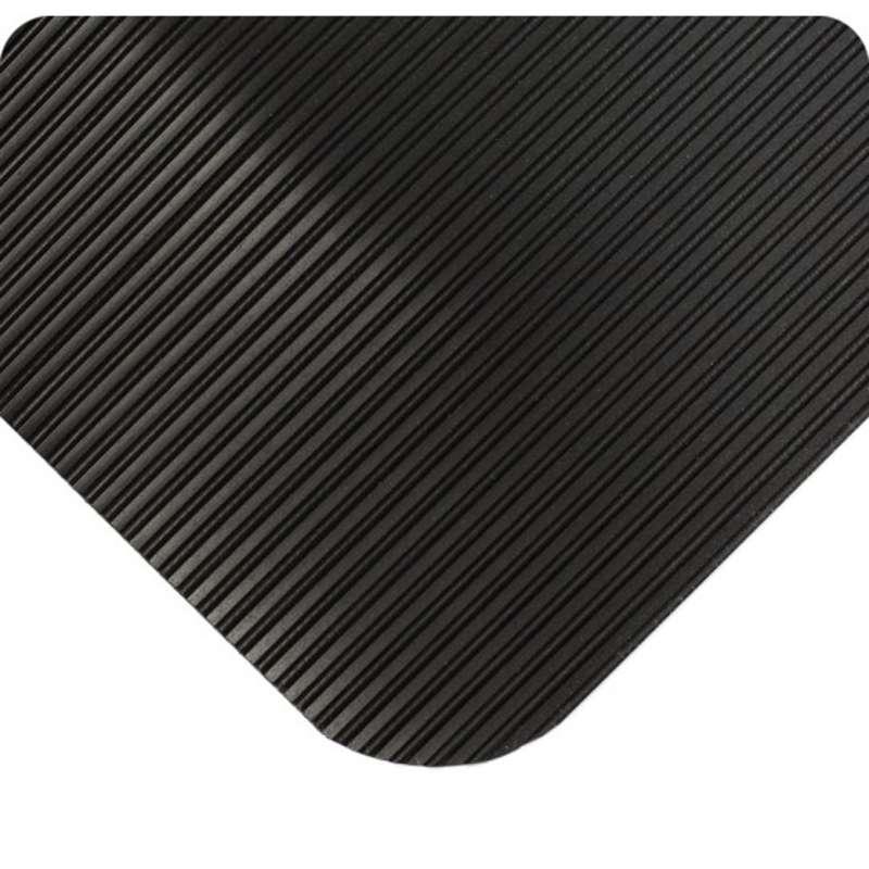 "ComfortPro™ 3 x 75' Anti-Fatigue Vinyl Black Matting with Flex-Link™ Sponge Base, 7/8"" Thick"
