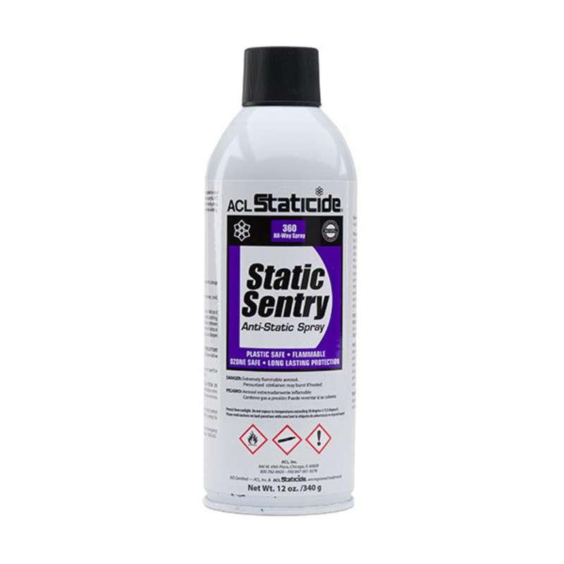 Staticide? Static Sentry Charge Generation Eliminator, 12 oz. Aerosol