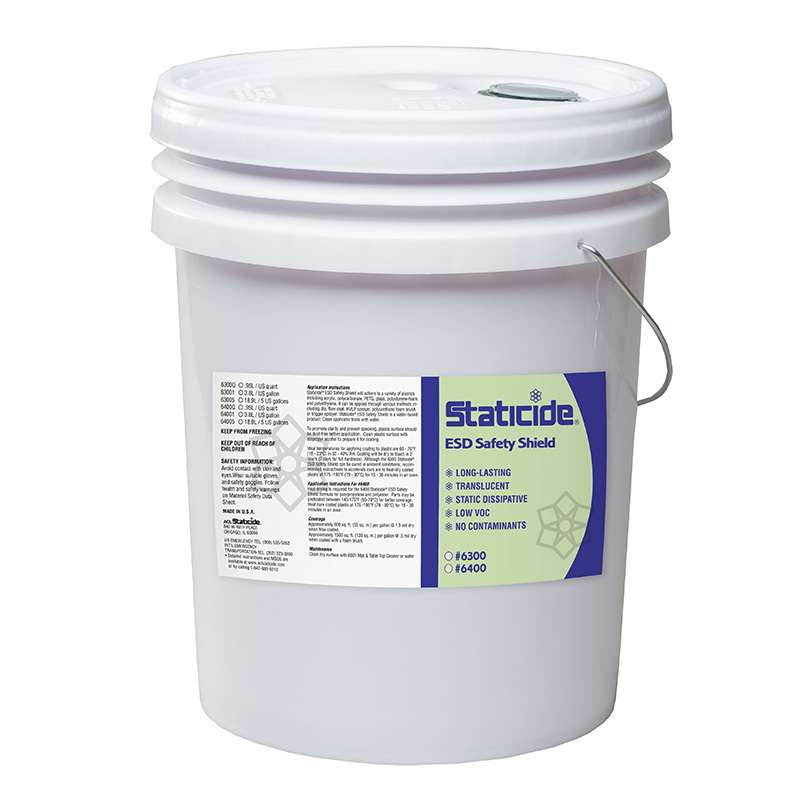 Staticide® ESD Safety Shield™, 5 Gallon, Pail