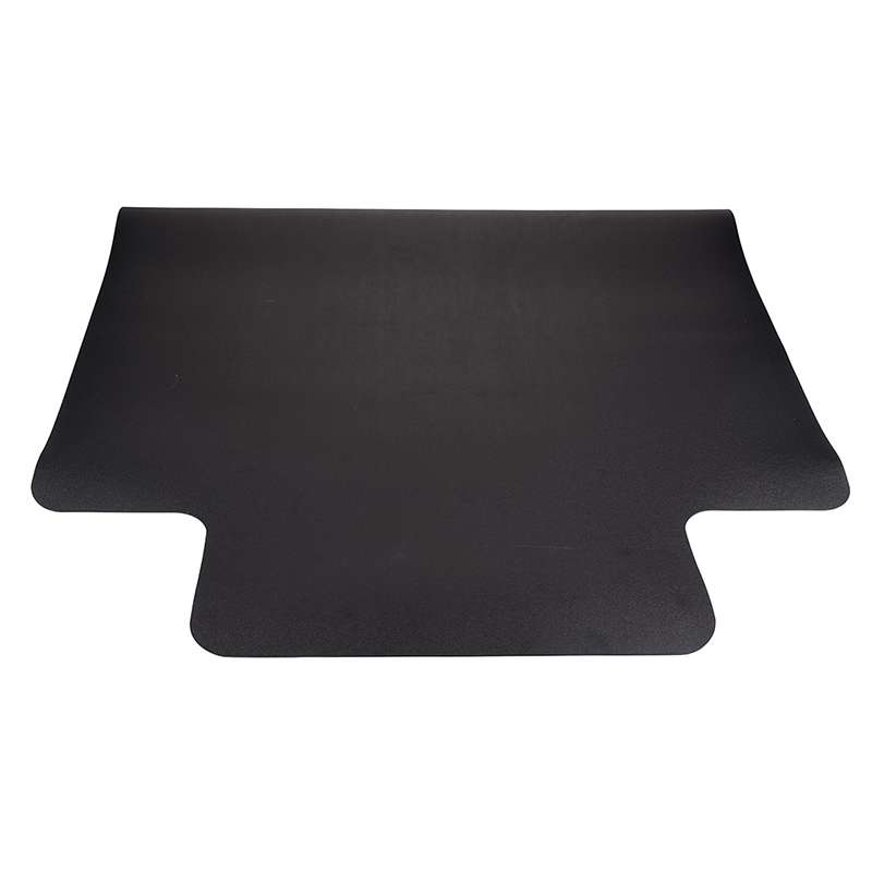 "ESD-Safe Conductive Vinyl Chair Mat 46 x 50"", Black"