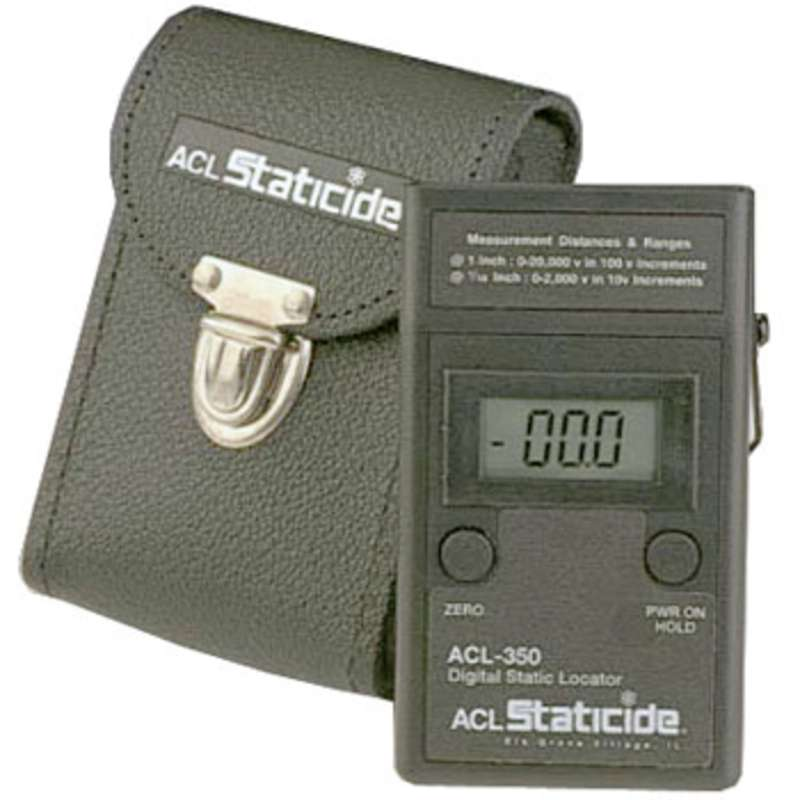 NIST Traceable Non-Contact Digital Static Meter with Case