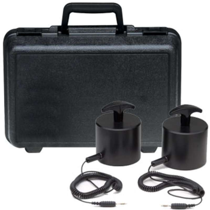 Weight Kit for ACL380 Resistivity Surface Meter, w/ Two 5lb Probes, Cords and Carrying Case