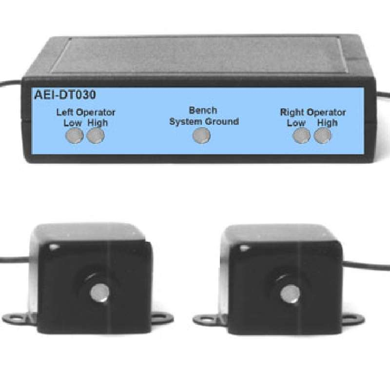 Continuous Capacitive ESD-Safe Monitor for Dual Operators