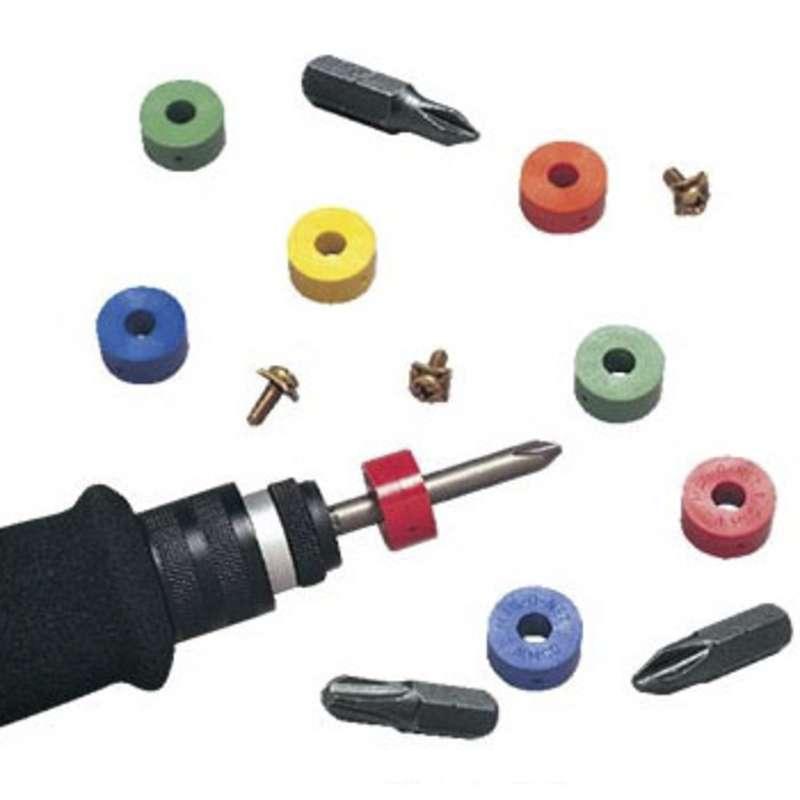 """Magnetic Rings, Detachable, for 3/16"""" Shank Bit 10 Pack"""