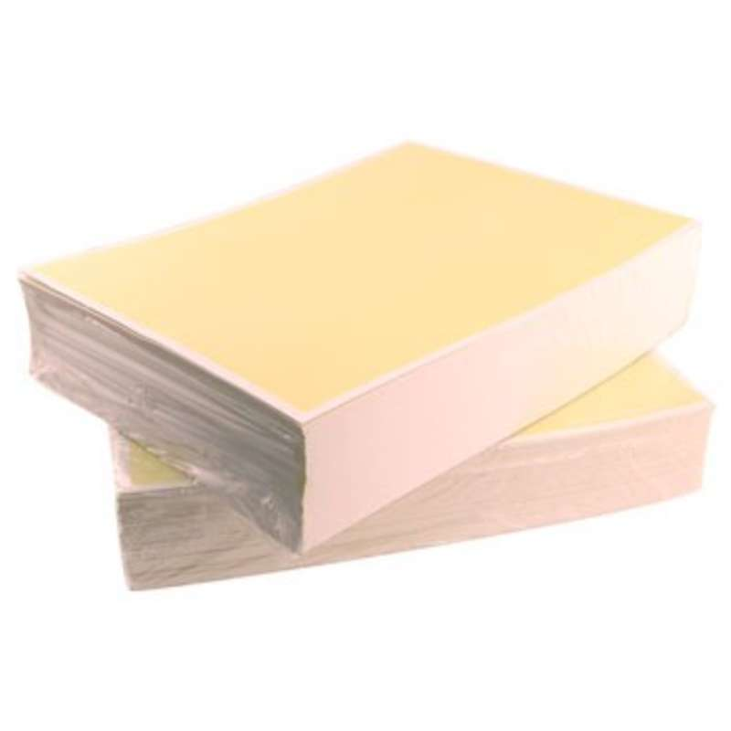 """ESD-Safe Yellow Paper, 8-1/2 x 11"""", 500 Sheets per Ream"""