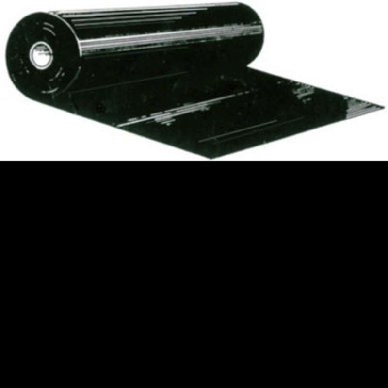 "Conductive 4mil Black Polyethylene Film Roll, 36"" x 150' Long"