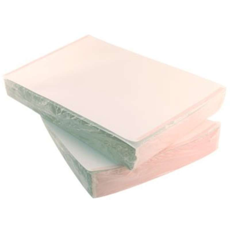 """ESD-Safe White Paper with Pink Stripe, 11 x 17"""", 500 Sheets per Ream"""