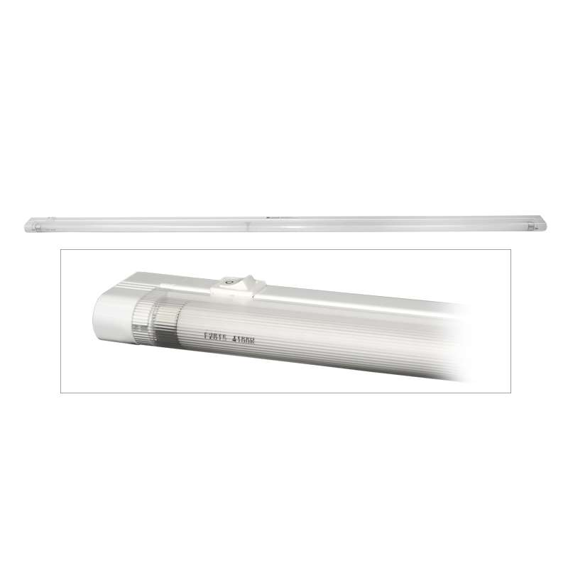 "48"" Undershelf Fluorescent Light Fixture for 60"", 72"", or 120"" Benches"