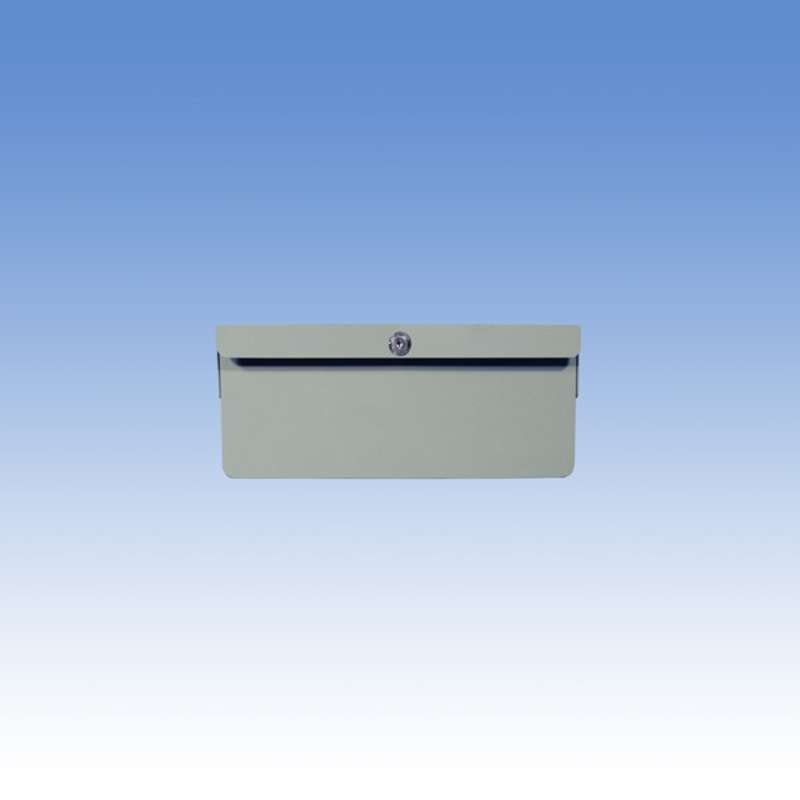"""Single Steel Drawer for Chemical Resistant Benches, Grey, 4"""" High"""