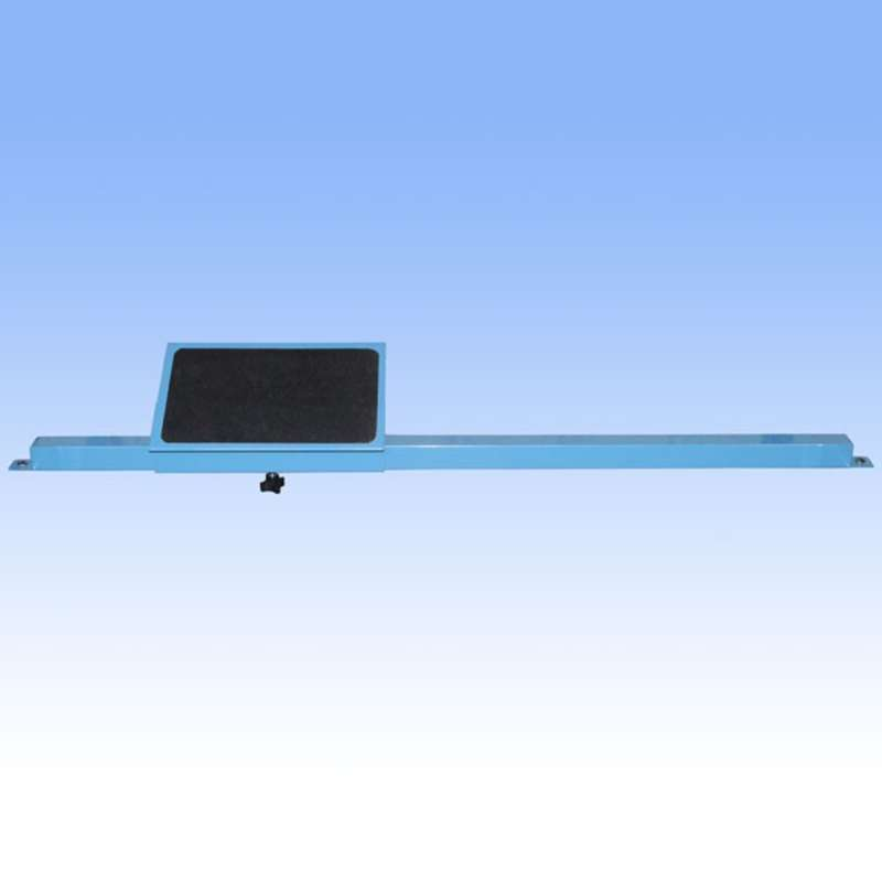 """Ergonomic Adjustable Footrest for 48"""" and 96"""" All-Spec Heavy Duty Benches"""