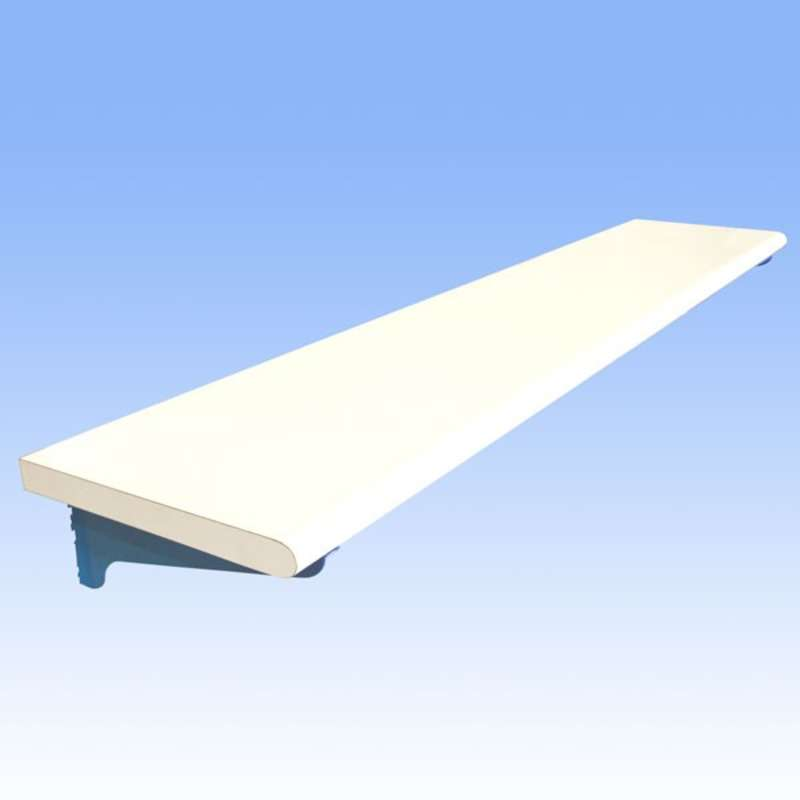 Non-ESD Adjustable Laminate Shelf for All-Spec Heavy Duty Benches, 18 x 72""