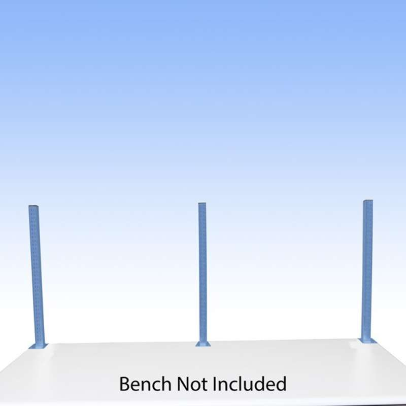 """Work Surface Mounted Uprights for 96"""" and 120"""" All-Spec Heavy-Duty Benches"""