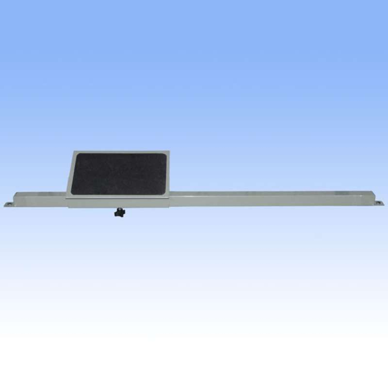 """Ergonomic Adjustable Footrest for 72"""" for All-Spec Heavy-Duty Chemical Resistant Benches, Grey"""