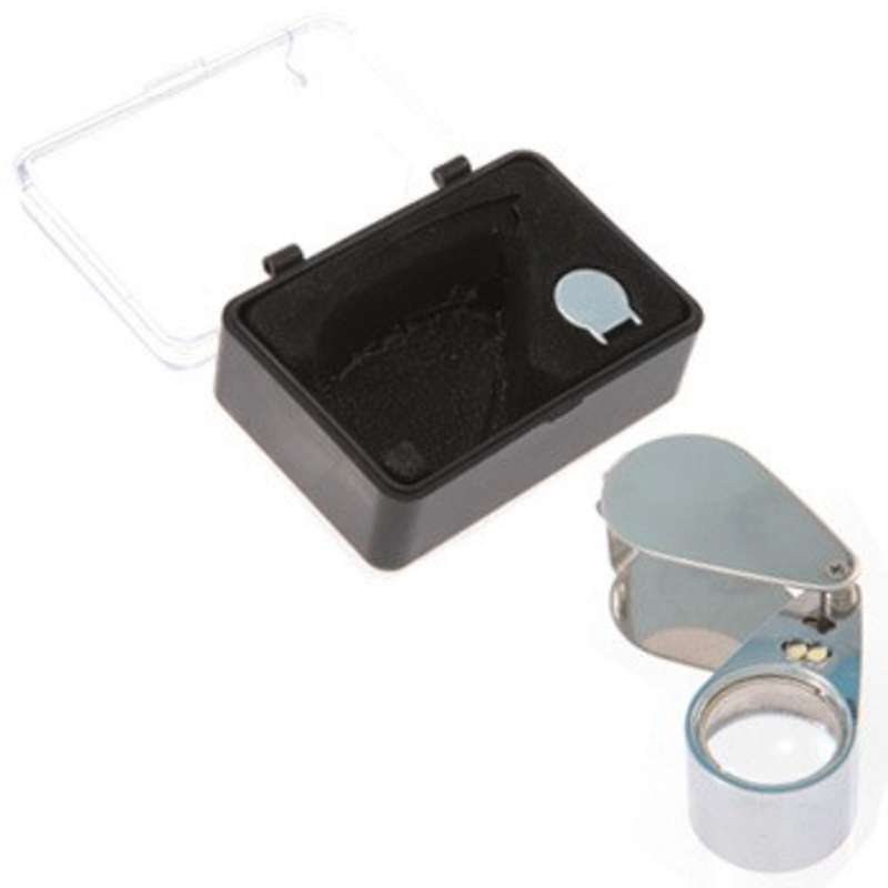 Multi-Purpose LED Eye Loupe with 30X Magnification and 21mm Lens Diameter