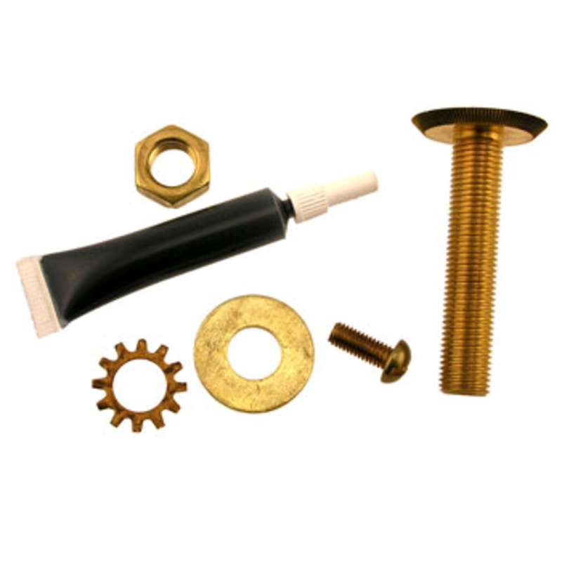 """2"""" Brass Flush Mount Ground Bolts used with ESD Laminate Bench Tops"""
