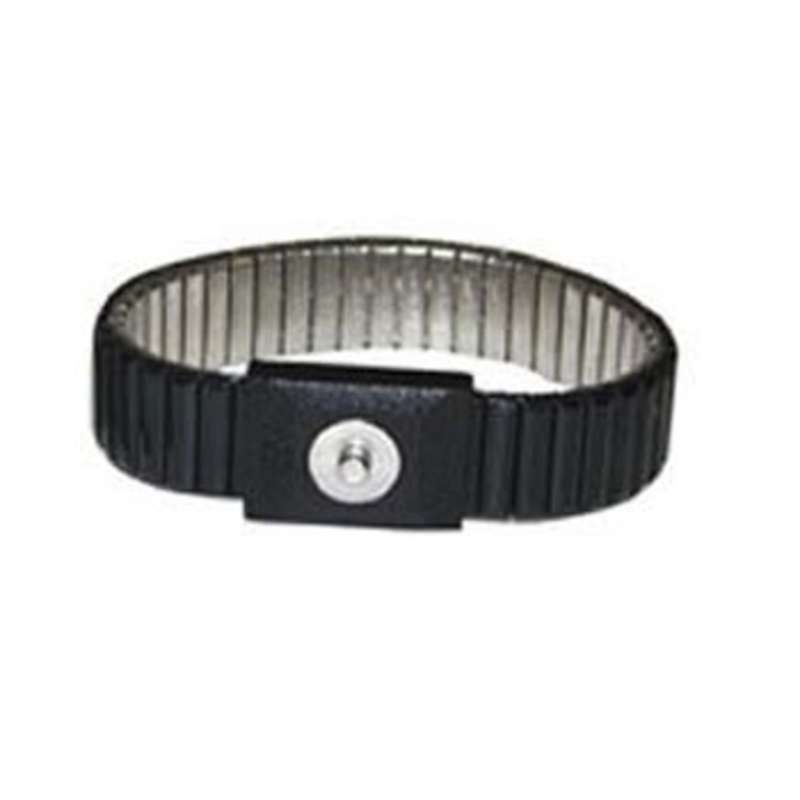 Adjustable Expandable Metal Wrist Strap, Black