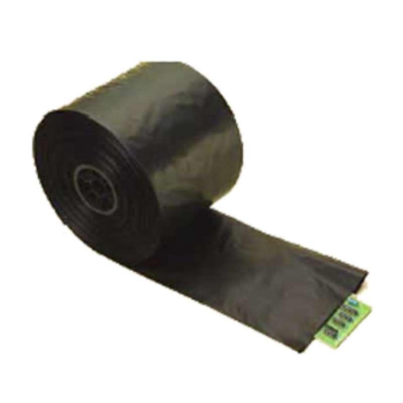 "Blac-Stat™ Conductive 4mil Black Polyethylene Tubing Roll, 10"" x 750' Long"