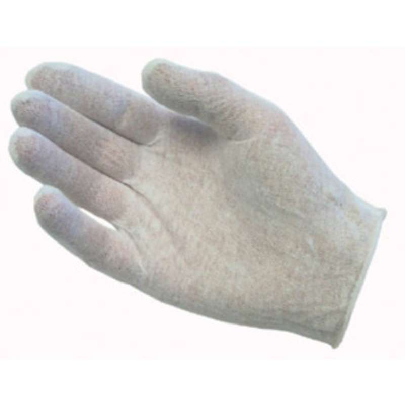 Premium Heavy Weight Cotton Inspection Gloves Unhemmed, Mens