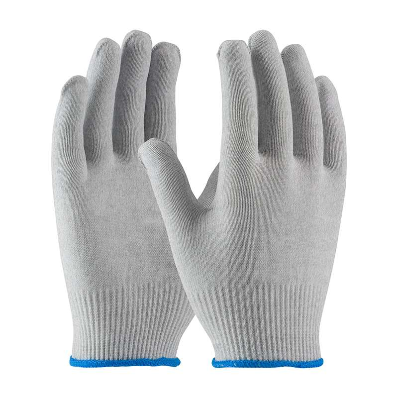 ESD Knit Low Lint Glove Large