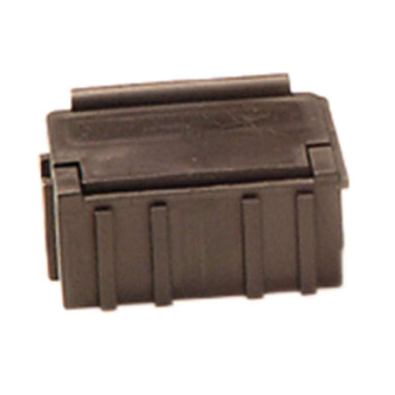 """Conductive Hinged SMD Storage Box with Black Lid, 1-1/2 x 1/2 x 19/32"""""""