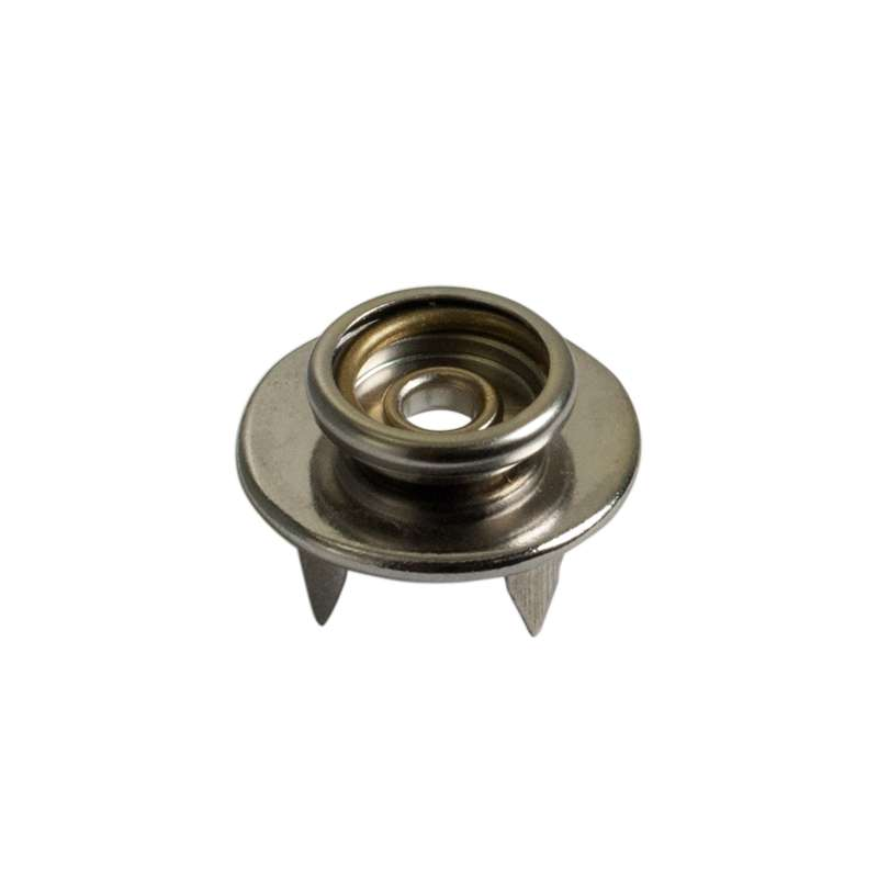 """Female Socket Push and Bend Snap Fastener, 3/8"""" (10mm)"""