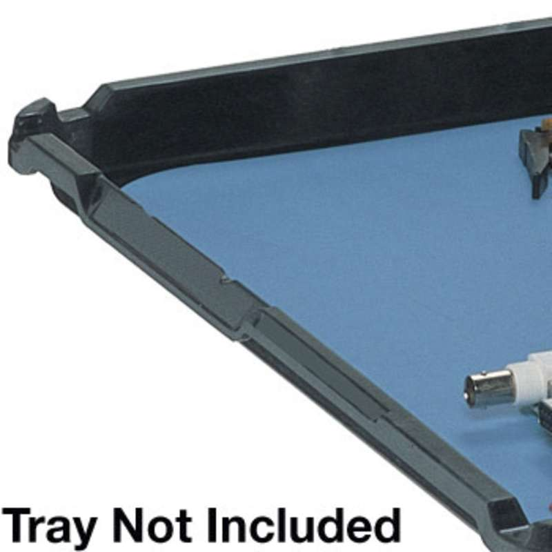 Premium 2-Layer Rubber Tray Inlay for the TR26181SD, Blue, 24 x 16-1/4