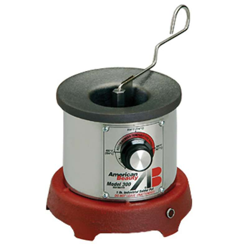 Industrial general purpose solder pot 1 pound capacity for A b salon equipment
