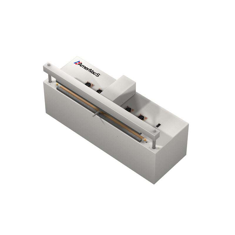 """Self Contained Retractable Nozzle Vacuum Sealer, 20"""" with Air Compressor"""