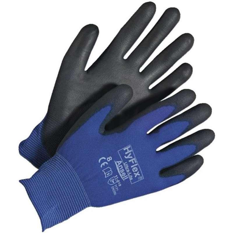 HyFlex® Ultra-Lite 11-618 Lrg, SZ 9, 144pr/CS